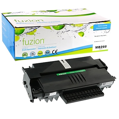 fuzion™ New Compatible Okidata MB260 MFP HY Black Toner Cartridges, Standard Yield (56123402)