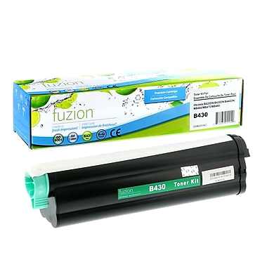 fuzion™ New Compatible Oki B430 Black Toner Cartridge, High Yield (43979201)