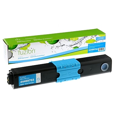 fuzion™ New Compatible Okidata C310/C510 Cyan Toner Cartridges, Standard Yield (44469703)
