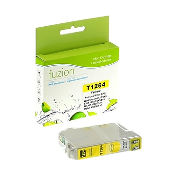 fuzion™ Compatible Epson T126420 HY Yellow Ink Cartridges, Standard Yield (T126420)