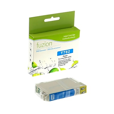 fuzion™ New Compatible Epson T078220 Cyan Ink Cartridges, Standard Yield (T078220)