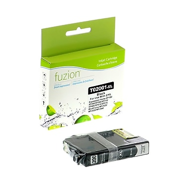 fuzion™ New Compatible Epson T200XL120 HY Black Ink Cartridges, High Yield (T200XL120)