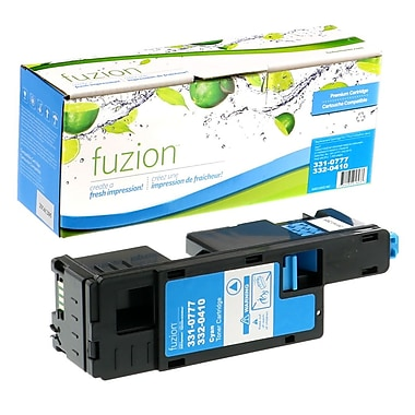fuzion™ New Compatible Dell 1350CN Cyan Toner Cartridges, Standard Yield (3310777)