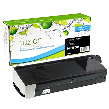 fuzion™ New Compatible Okidata C710/711 Black Toner Cartridges, Standard Yield (43866104)
