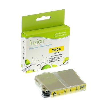 fuzion™ New Compatible Epson T060420 Yellow Ink Cartridges, Standard Yield (T060420)