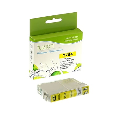 fuzion™ New Compatible Epson T078420 Yellow Ink Cartridges, Standard Yield (T078420)