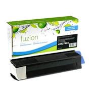 Fuzion - Cartouche de toner noire compatible OKI Data C5100, rendement standard (43034804)