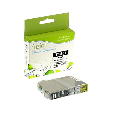 fuzion™ New Compatible Epson T125120 Black Ink Cartridges, Standard Yield (T125120)
