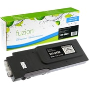 fuzion™ New Compatible Dell C3760N Black Toner Cartridges, High Yield (3318429)