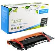 Fuzion - Cartouche de toner noir compatible Samsung CLP365, rendement standard (CLTK406)