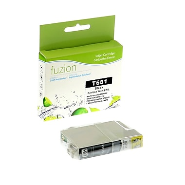 fuzion™ New Compatible Epson T068120 HY Black Ink Cartridges, Standard Yield (T068120)