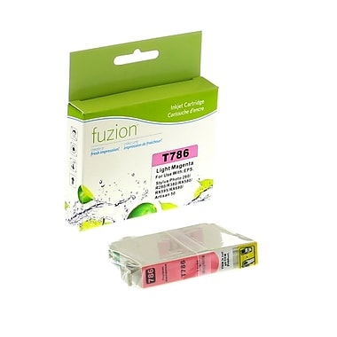 fuzion™ New Compatible Epson T078620 Photo Magenta Ink Cartridges, Standard Yield (T078620)