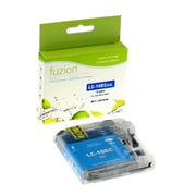 fuzion™ New Compatible Brother LC10EC Cyan InkJet Cartridge, Extra, High Yield (LC10EC)