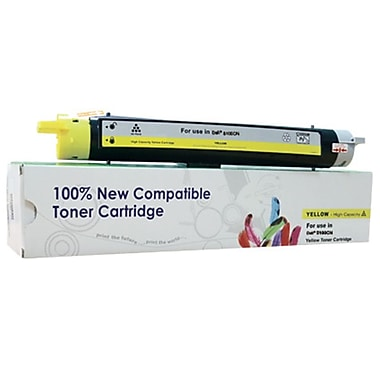 fuzion™ New Compatible Dell 5100CN Yellow Toner Cartridges, Standard Yield (3105808)