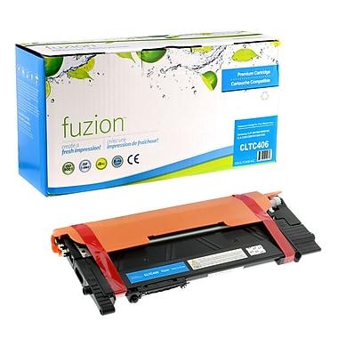 fuzion™ New Compatible Samsung CLP365 Cyan Toner Cartridges, Standard Yield (CLTC406)