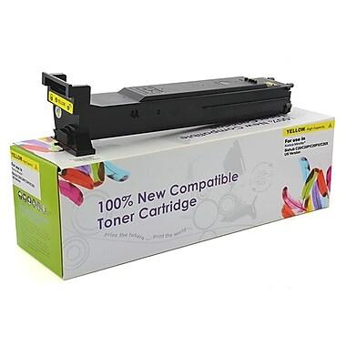 fuzion™ New Compatible KM Bizhub C20 Yellow Toner Cartridges, Standard Yield (TN318Y, A0DK233)
