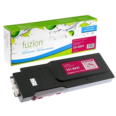 fuzion™ New Compatible Dell C3760N Magenta Toner Cartridges, High Yield (3318431)