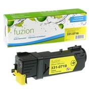 fuzion - Cartouches de toner jaune compatibles Dell 2150cn, rendement standard (3310718)