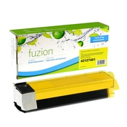 fuzion™ New Compatible Okidata C5100 Yellow Toner Cartridges, Standard Yield (43034801)