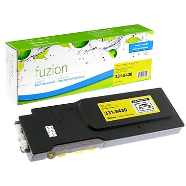fuzion™ New Compatible Dell C3760N Yellow Toner Cartridges, Standard Yield (3318430)