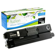 fuzion™ New Compatible Okidata C530DN/MC561DN Black Toner Cartridges, Standard Yield (44469802)