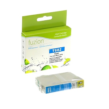 fuzion™ New Compatible Epson T068220 HY Cyan Ink Cartridges, Standard Yield (T068220)