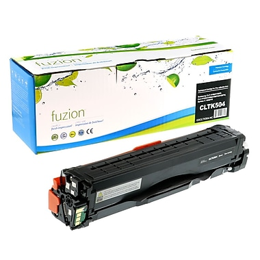 fuzion™ New Compatible Samsung CLP415/CLX4195FN Black Toner Cartridges, Standard Yield (CLTK504)