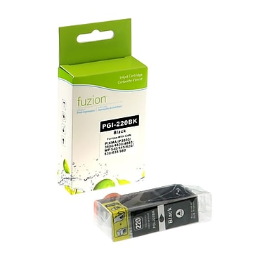 fuzion™ New Compatible Canon PGI220BK Photo Black Ink Cartridges, Standard Yield (2945B001)