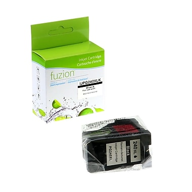 fuzion™ Remanufactured Canon PG240XL Black Ink Cartridges, High Yield (PG240XL)
