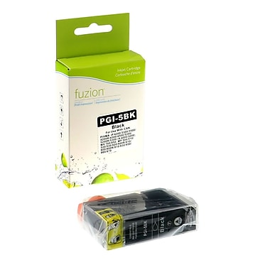 fuzion™ New Compatible Canon PGI5BK Black Ink Cartridges, Standard Yield (PGI5)