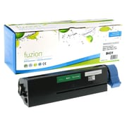 fuzion™ New Compatible Okidata B431 Black Toner Cartridges, Standard Yield (44574901)