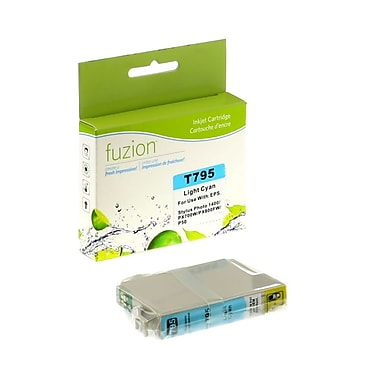 fuzion™ New Compatible Epson T079520 Photo Cyan Ink Cartridges, Standard Yield (T079520)
