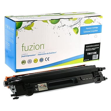 fuzion™ Remanufactured Brother HL4040 Black Toner Cartridges, Standard Yield (TN115BK)