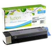 fuzion™ New Compatible Okidata C610 Black Toner Cartridges, Standard Yield (44315304)