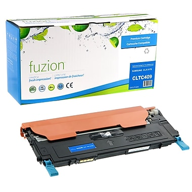 fuzion™ Remanufactured Samsung CLP310 Cyan Toner Cartridges, Standard Yield (CLTC409)