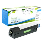 fuzion™ New Compatible Okidata B411 Black Toner Cartridges, Standard Yield (44574901)