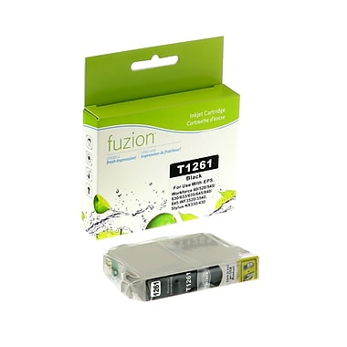 fuzion™ Compatible Epson T126120 HY Black Ink Cartridges, Standard Yield (T126120)