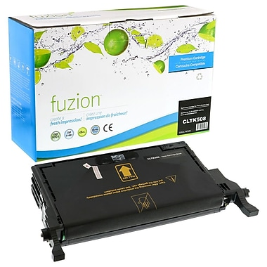 fuzion™ Remanufactured Samsung CLP620/CLX6220 Black Toner Cartridges, Standard Yield (CLTK508)