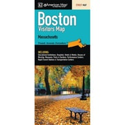 Universal Map Boston Vistors Map Fold Map