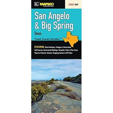 Universal Map San Angelo/Big Spring Fold Map