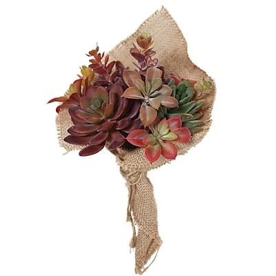 Bungalow Rose Mixed Succulent Bouquet Floral Arrangement