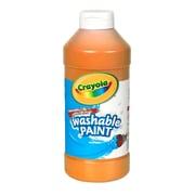 Crayola Crayola Washable Paint 16oz Orange