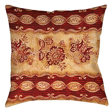 Fleur De Lis Living Alana Indoor/Outdoor Throw Pillow; 18'' H x 18'' W x 5'' D