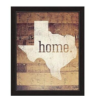 Loon Peak 'Home' Framed Textual Art; 23'' H x 19'' W x 1'' D