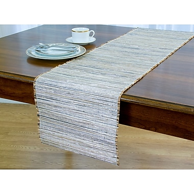 World Menagerie Mcneil Straw Table Runner; 72'' H x 13'' W