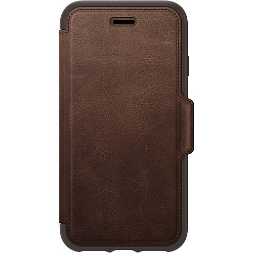 huge discount fdee2 e776b OtterBox Strada Espresso Rugged Case for iPhone 7/8 (77-56770)