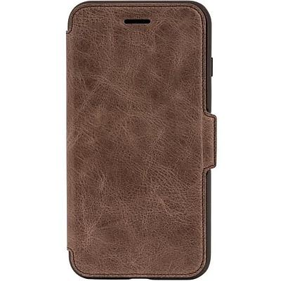 OtterBox Strada Folio Carrying Case for iPhone 7 Plus and iPhone 8 Plus, Espresso (77-56967)