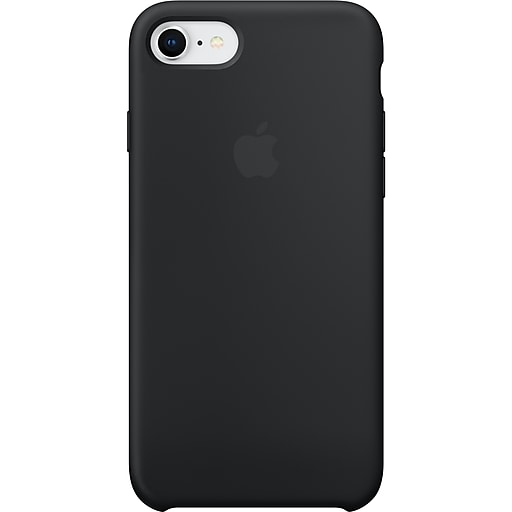 9814ade29b Apple Silicone Case for iPhone 8 and iPhone 7, Black (MQGK2ZMand iPhoneA).  https://www.staples-3p.com/s7/is/