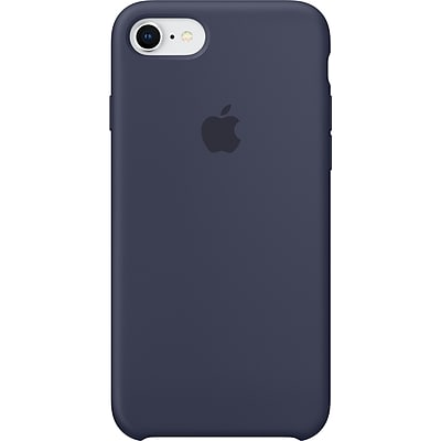 Apple Silicone Case for iPhone 8 and iPhone 7, Midnight Blue (MQGM2ZM/A)