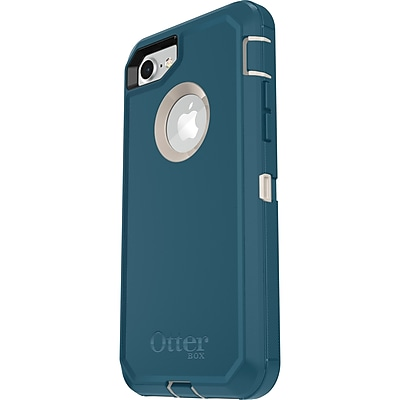 OtterBox Defender Carrying Case with Holster for iPhone 7 and iPhone 8, Big Sur (77-56606)